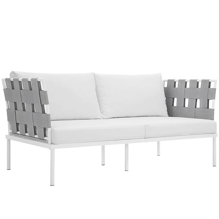 Peace Outdoor Patio Aluminum Loveseat - living-essentials