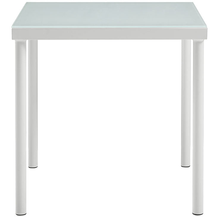 Peace Outdoor Patio Aluminum Side Table - living-essentials