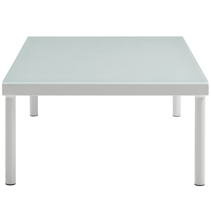 Peace Outdoor Patio Aluminum Coffee Table - living-essentials