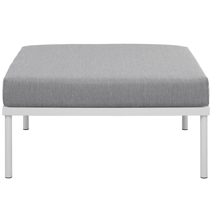 Peace Outdoor Patio Aluminium Ottoman - living-essentials