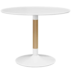 Swirl Round Dining Table - living-essentials