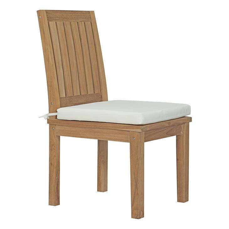 Marine Outdoor Patio Teak Dining Chair Chairs Free Shipping