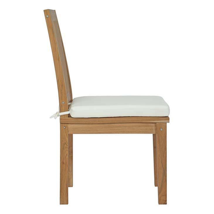 Marine Outdoor Patio Teak Dining Chair - living-essentials
