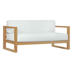 Unity Outdoor Patio Teak Sofa - living-essentials