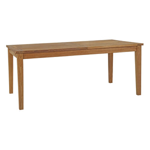 Macy 108.5 Outdoor Patio Teak Dining Table Free Shipping