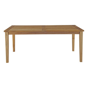 Macayla 72 Outdoor Patio Teak Dining Table Free Shipping