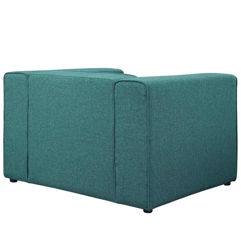 Macy Upholstered Fabric Armchair - living-essentials
