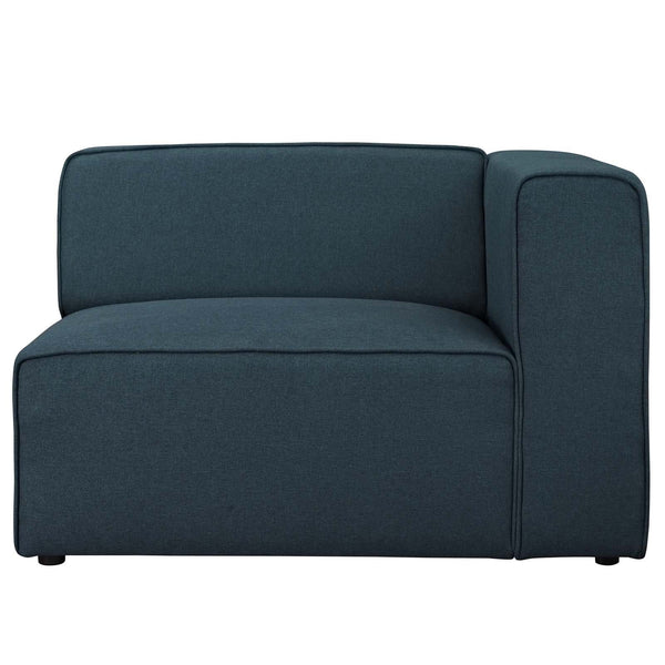 Macy Left Fabric Armchair - living-essentials