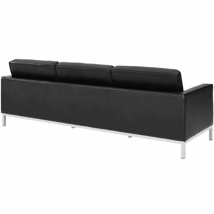 Florence Knoll Style Leather Sofa - living-essentials