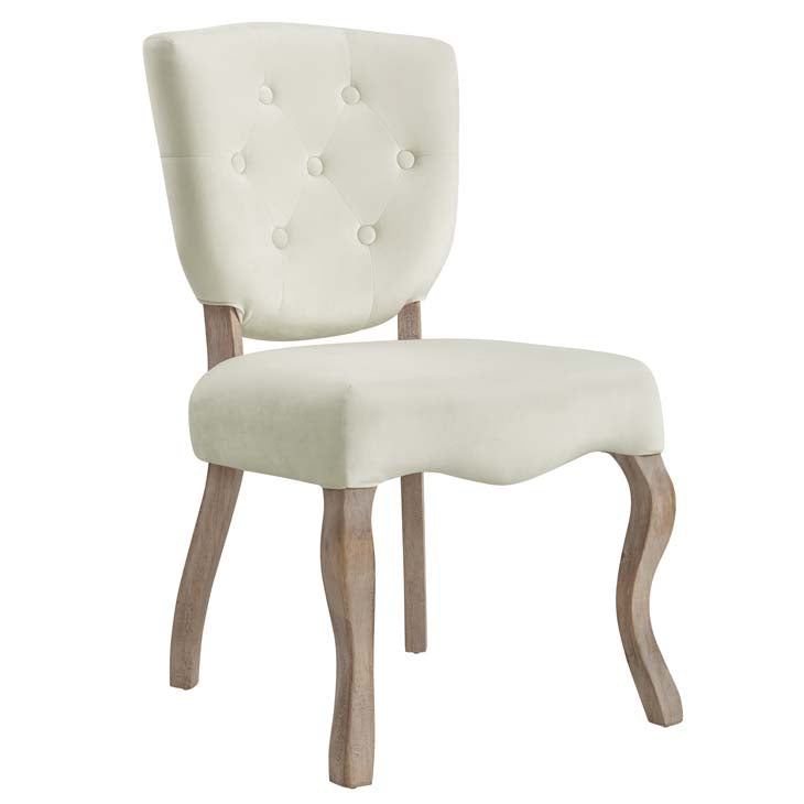 Ariston Vintage French Dining Side Chair - living-essentials