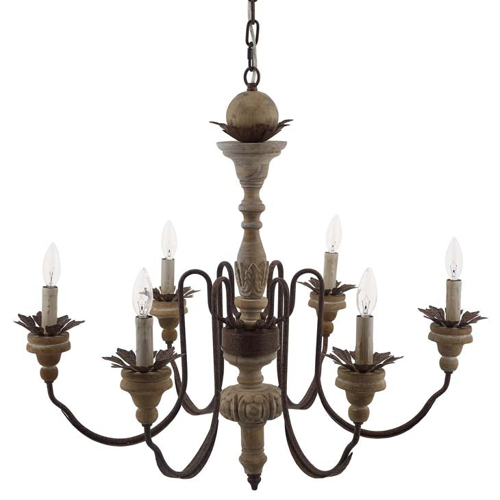 Bountiful Vintage French Pendant Ceiling light Candelabra Chandelier - living-essentials