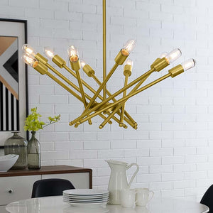 Charlize Brass Metal Pendant Light - living-essentials