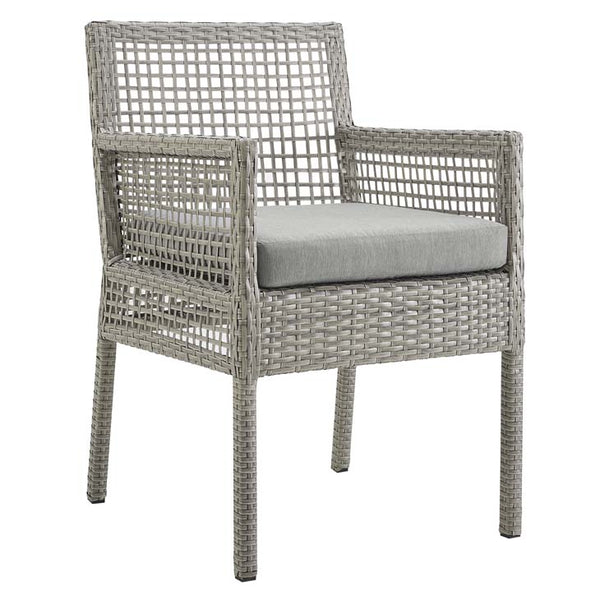 Audrey Outdoor Patio Wicker Rattan Dining Armchair - living-essentials