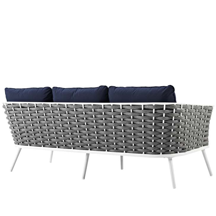 Standpoint Outdoor Patio Aluminum Sofa - living-essentials