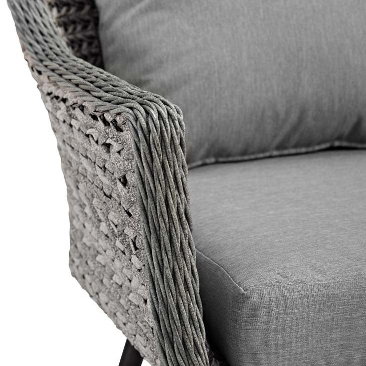 Endeavor Outdoor Patio wicker Rattan Armchair - living-essentials