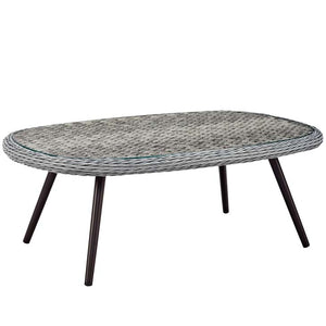 Endeavor Outdoor Patio Wicker Rattan Coffee Table