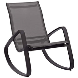Traveler Rocking Outdoor Patio Mesh Sling Lounge Chair - living-essentials