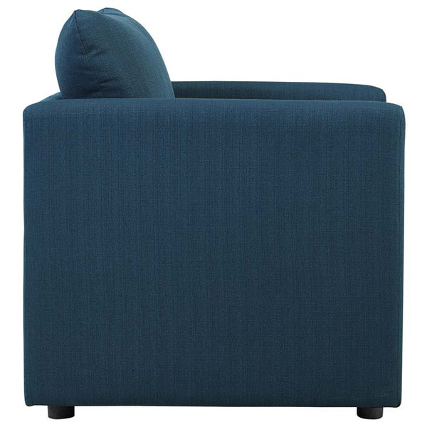 Activate Upholstered Fabric Armchair - living-essentials