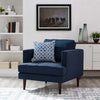 Agatha Upholstered Fabric Armchair