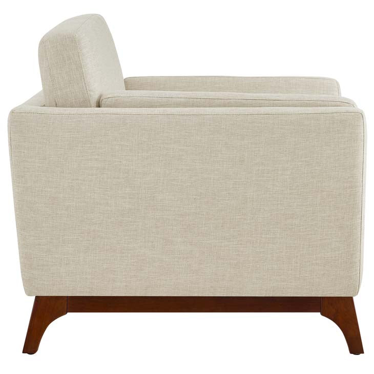 Chance Upholstered Fabric Armchair - living-essentials
