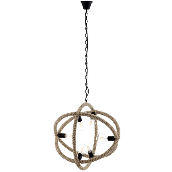 Treasure Rope Pendant Chandelier - living-essentials