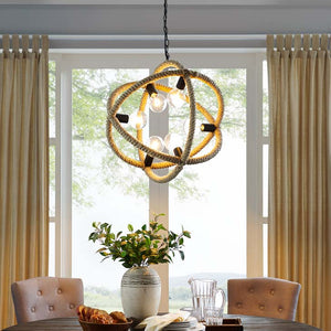 Treasure Rope Pendant Chandelier