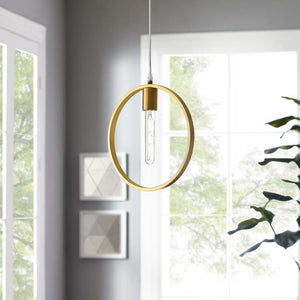 Orion Brass Ceiling Pendant Light
