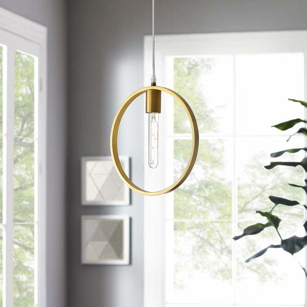 Orion Brass Ceiling Pendant Light - living-essentials