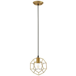 Pique Rose Gold Metal Ceiling Fixture - living-essentials