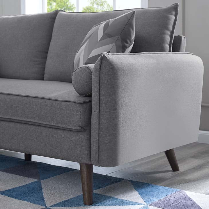 Revive Upholstered Fabric Loveseat - living-essentials