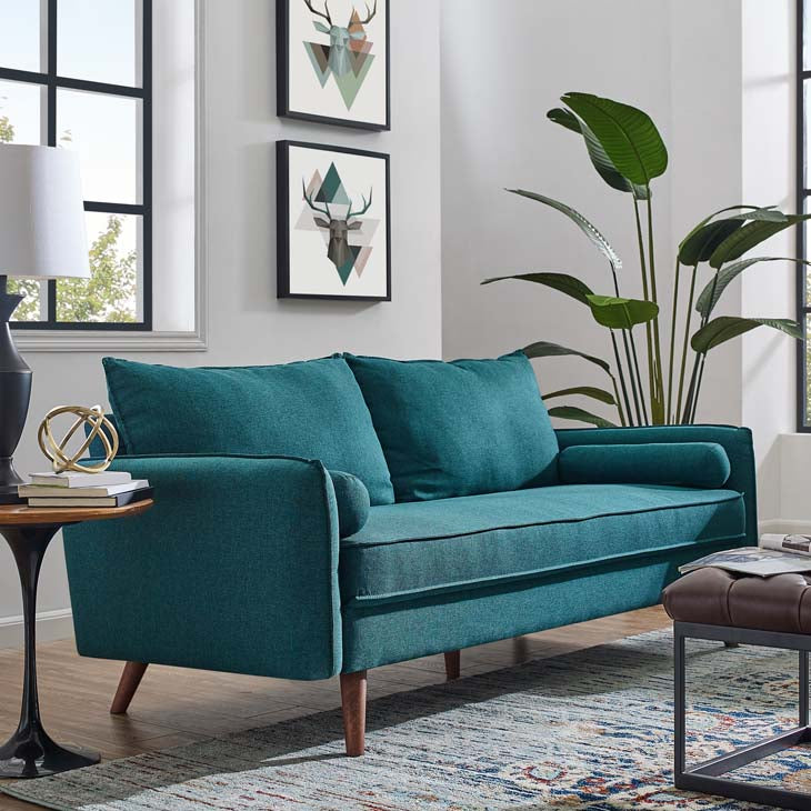 Revive Upholstered Fabric Sofa - living-essentials