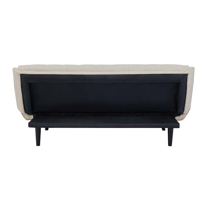 Glance Tufted Convertible Fabric Fofa Bed - living-essentials