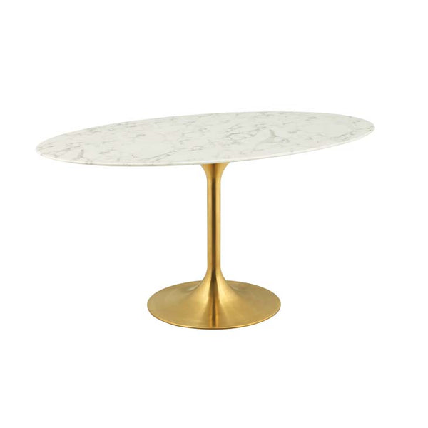 "Lippa 60"" Oval Dining Table - living-essentials"