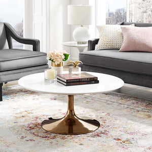 "Tulip Style 36"" Rose Coffee Table - living-essentials"