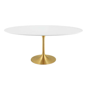 "Lippa 78"" Oval Dining Table"