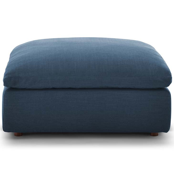 Commix Down Filled Overstuffed Ottoman - living-essentials