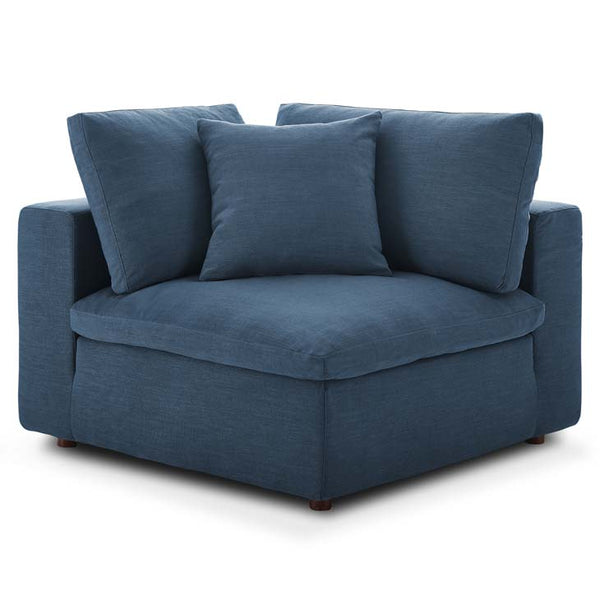 Commix Down Filled Overstuffed Corner Chair - living-essentials