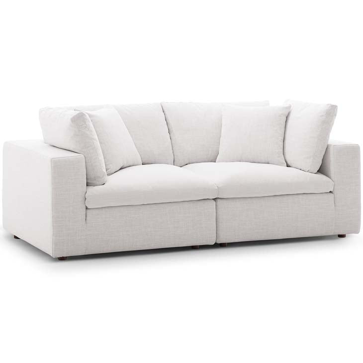 Commix Down Filled Overstuffed 2 Piece Sectional Sofa Set - living-essentials