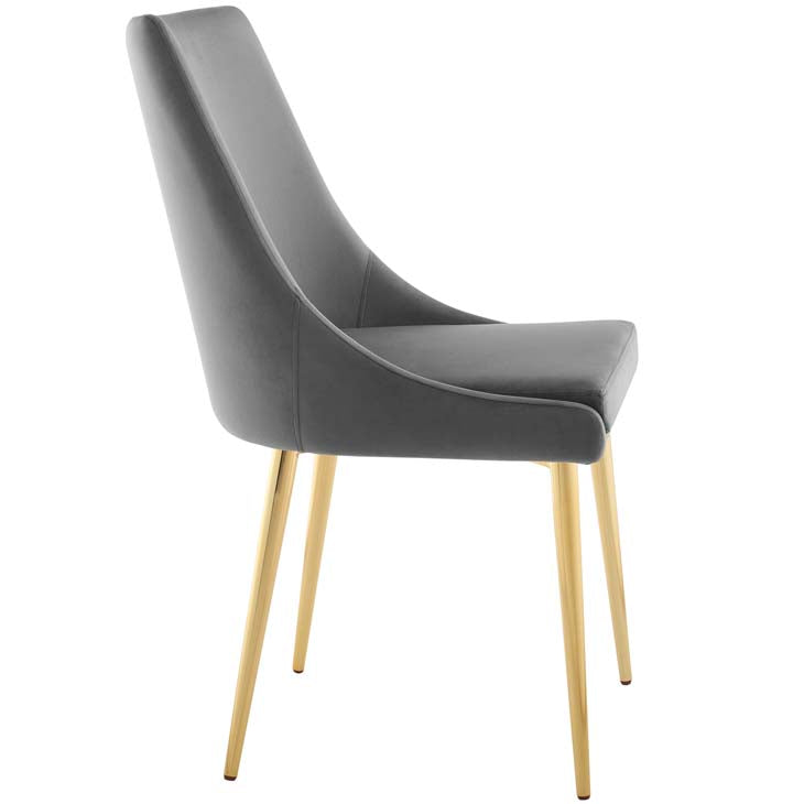 Island Modway Accent Performance Velvet Dining Chair - living-essentials