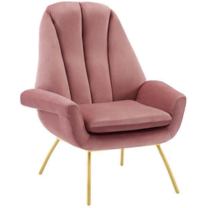 Apogee Accent Performance Velvet Armchair