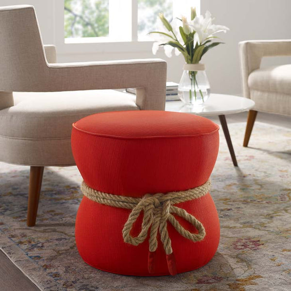 Cuff Hour Glass Padding Stool - living-essentials
