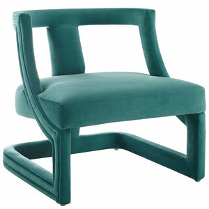 Rigueur Accent Lounge Performance Velvet Armchair