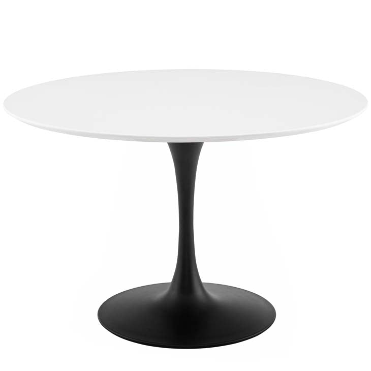 "Tulip 47"" Round Wood Dining Table - living-essentials"