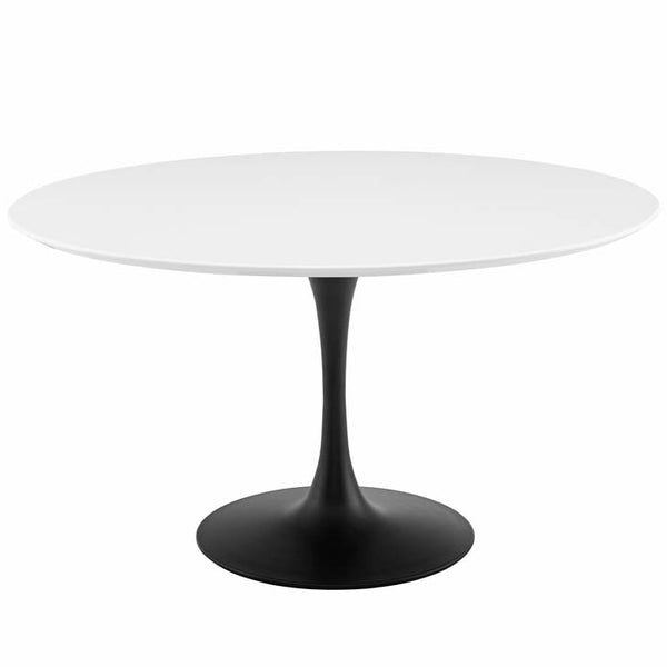 "Tulip 54"" Round Wood Dining Table - living-essentials"