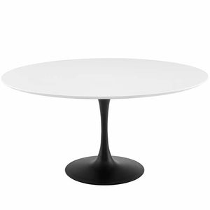 "Tulip 60"" Round Wood Dining Table"