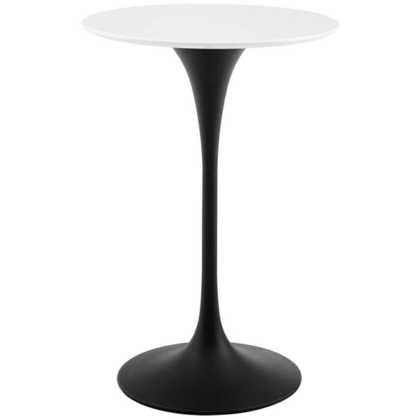 "Tulip 28"" Round Wood Bar Table - living-essentials"