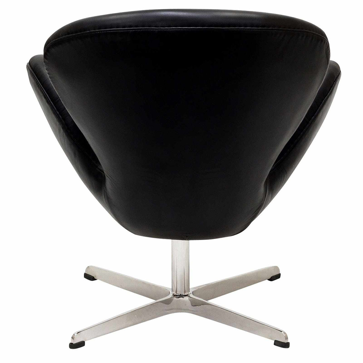 Swan Style Chair Black Chairs Free Shipping