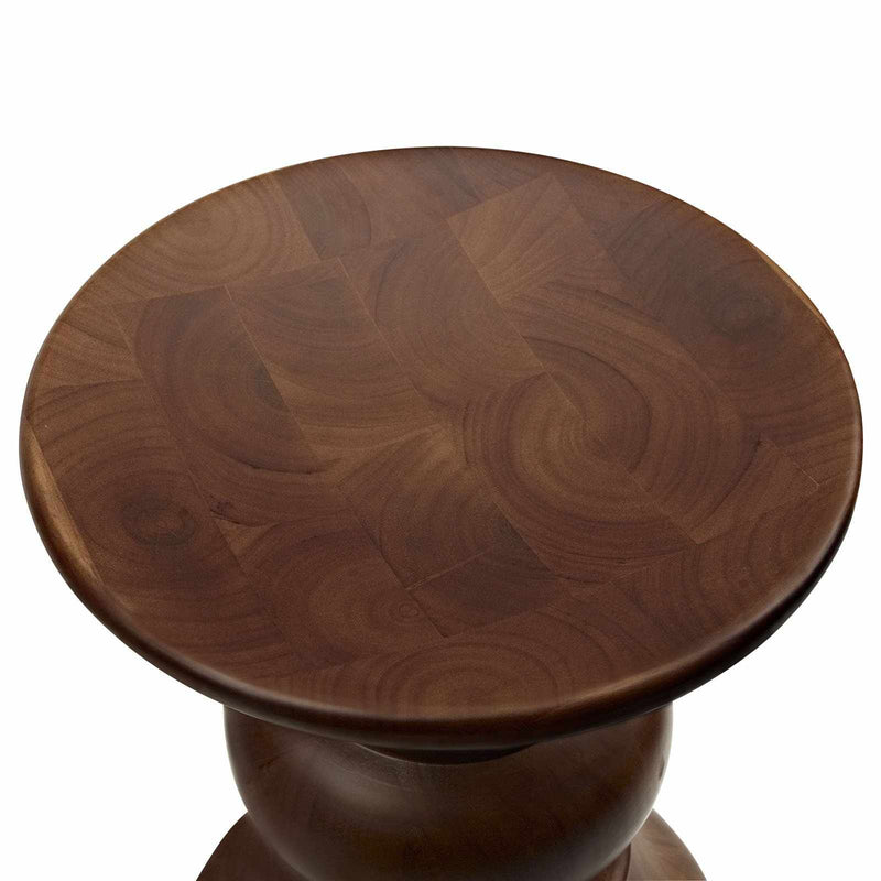 Emfurn Walnut Stool - living-essentials