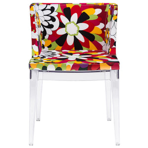 Starck Style Madmoiselle Dining Chair Clear Free Shipping