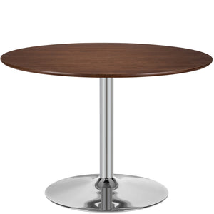Michelle Retro Dining Table Walnut Free Shipping